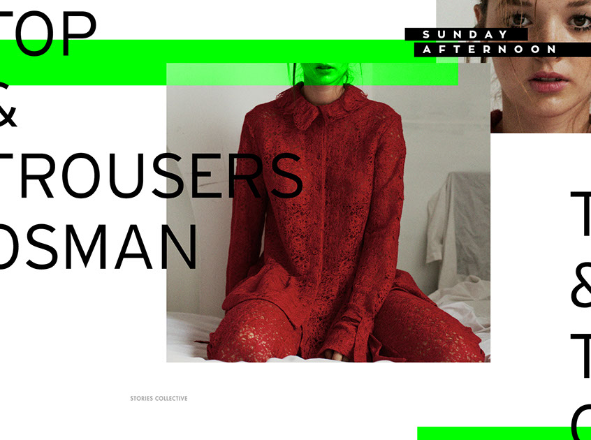 , sunday afternoon / stories collective, iordanis passas | graphic & type design