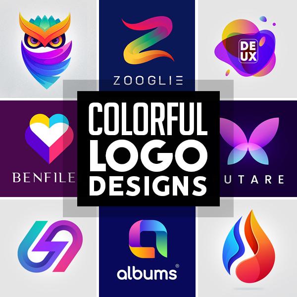 36 Awe-Inspiring Colorful Logo Designs