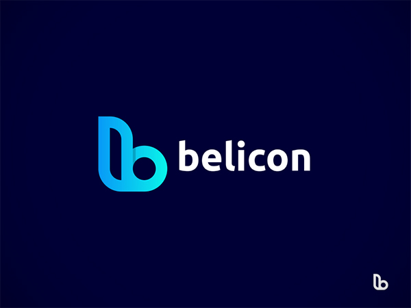 Belicon logo concept - B letter logo design by Abdul Gaffar
