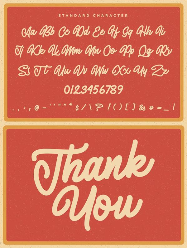 Almonthy Mirotas Monoline Script Free Font