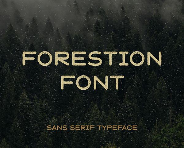 Forestion Vintage Free Font