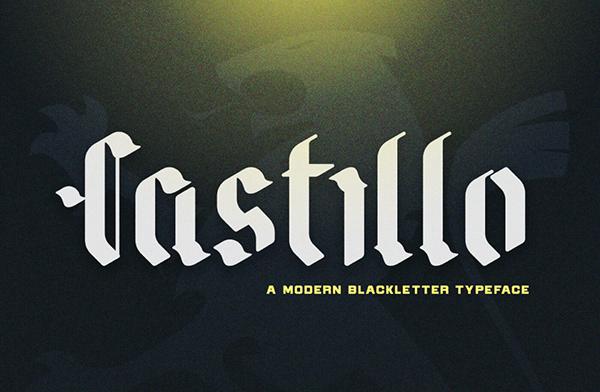 Castillo Free Hipster Font