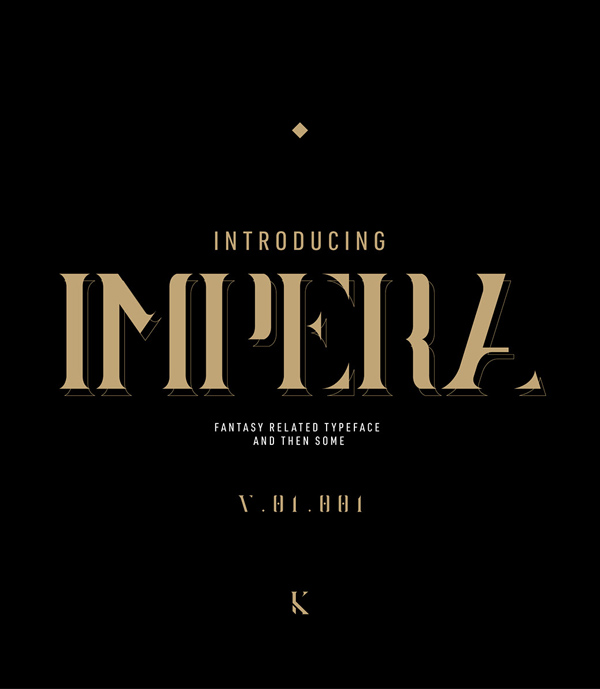 Impera Free Hipster Font