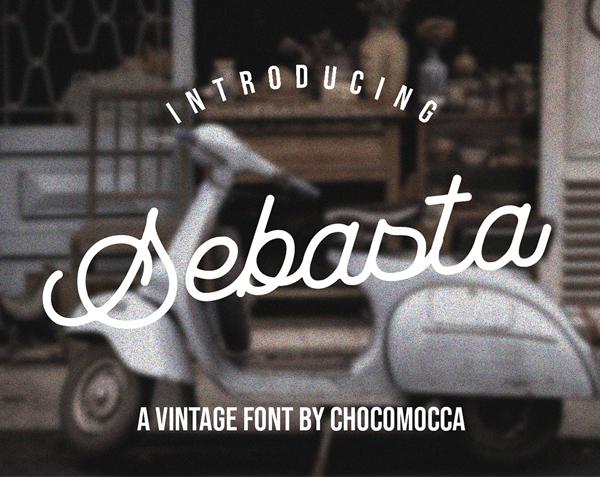 Sebasta Vintage Free Hipster Font