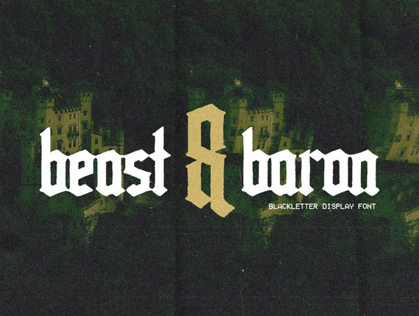 Beast & Baron Free Hipster Font