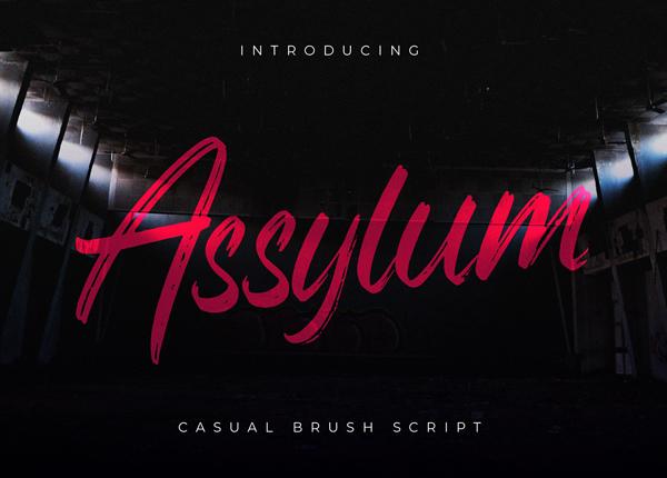 Assylum Free Hipster Font