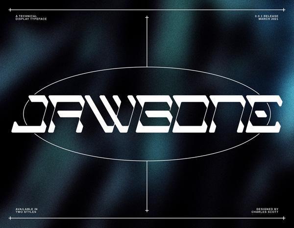 Jawbone Free Font
