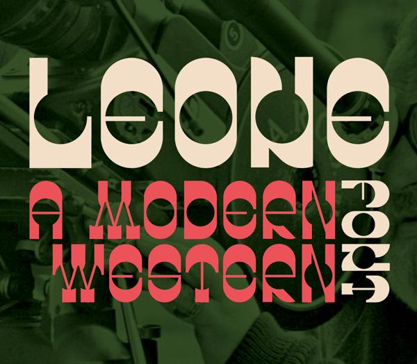 Leone Free Font
