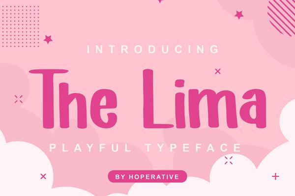 The Lima Free Font