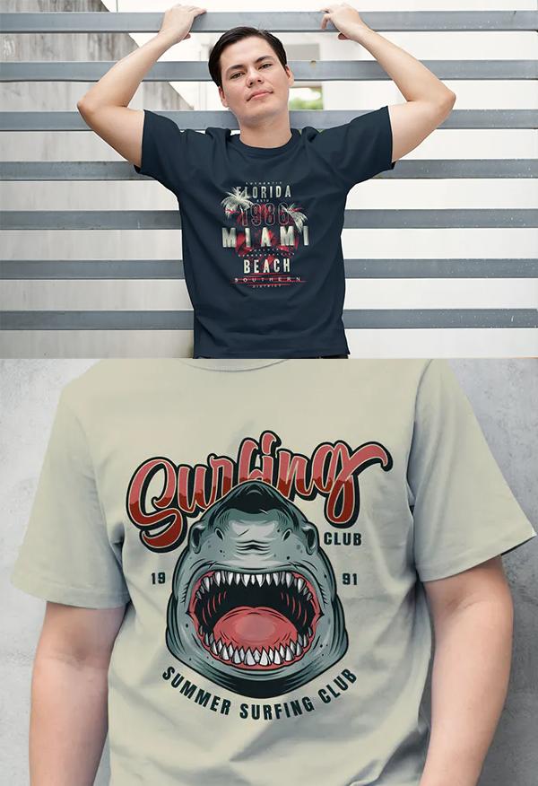 Placeit T-Shirt Mockup
