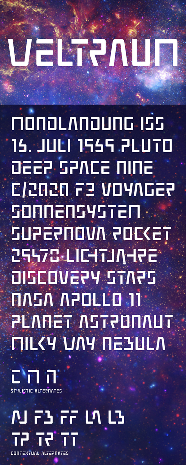 Weltraum Free Font